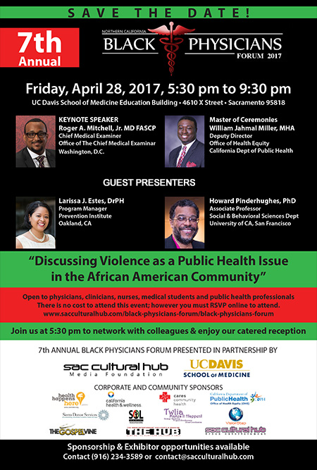 SAVE THE DATE - 7th Annual Black Physicians Forum - April 28, 2017