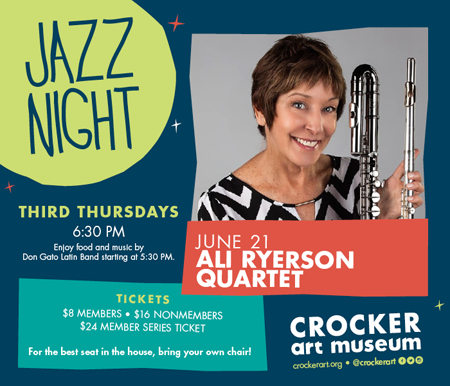 Jazz Night Crocker Art Museum