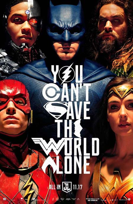 Justice League film poster 3