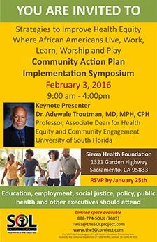 Community Action Plan Implementation