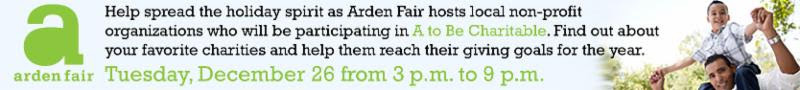 A to Be Charitable at Arden Fair