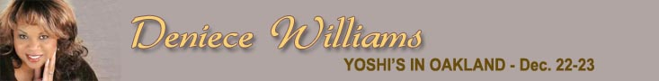 Deniece Williams at Yoshis