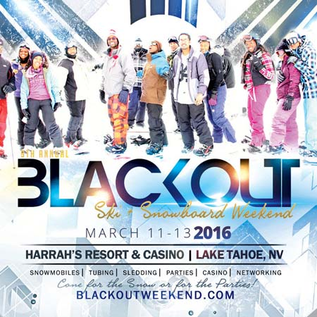 Black Out Ski Weekend