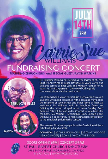 Carrie Sue Williams Fundraiser