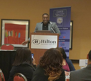 Keynote Speaker - Chris Johnson, Founder/CEO of Rapid Brands, Inc. at 2017 CAREB Annual State Conference