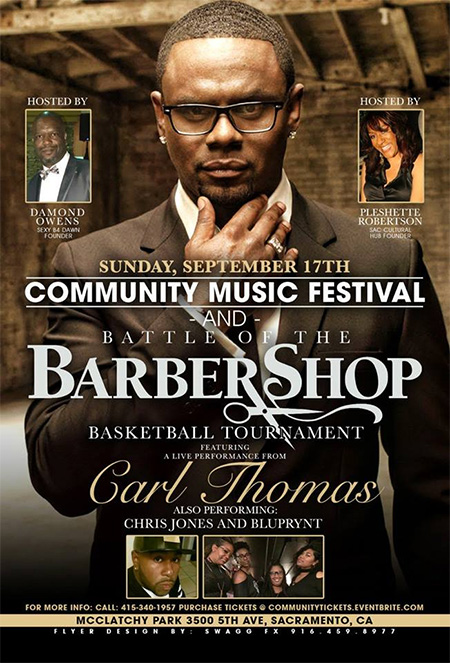 Community Music Festival and BarberShop Basketball Tournament