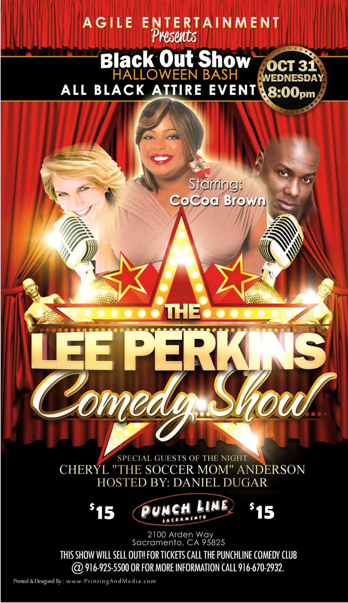 AEG - Lee Perkins Comedy Show