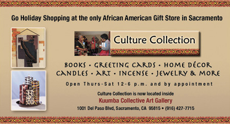 Visit the only African American Gift Store in Sacramento, Culture Collection