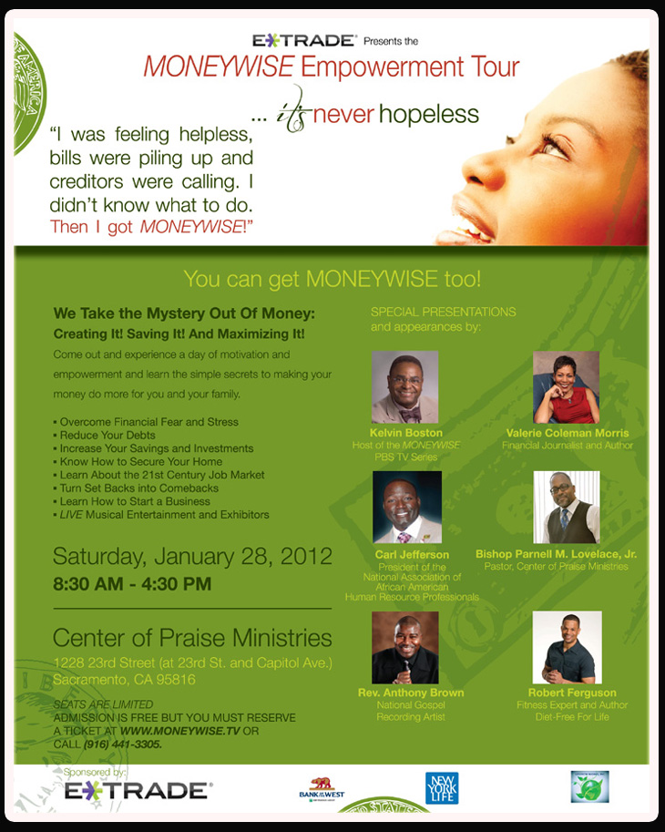 Moneywise Empowerment Tour - January 28, 20123
