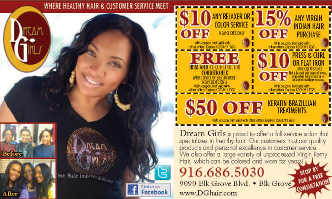 Discount Specials at Dream Girls