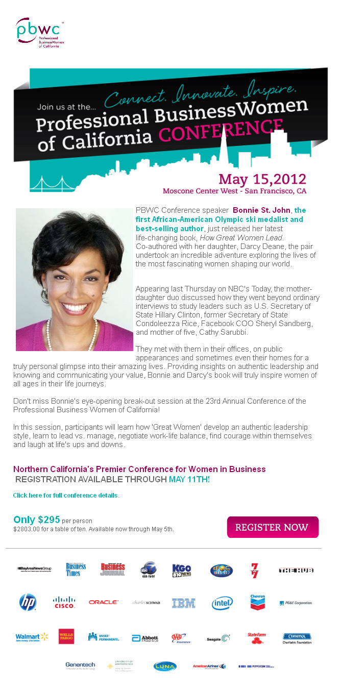 Register Now for the PBWC in San Francisco