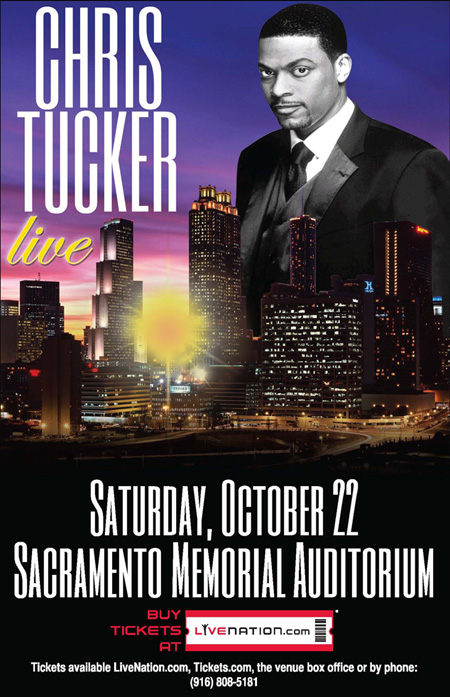 Chris Tucker live in Sacramento