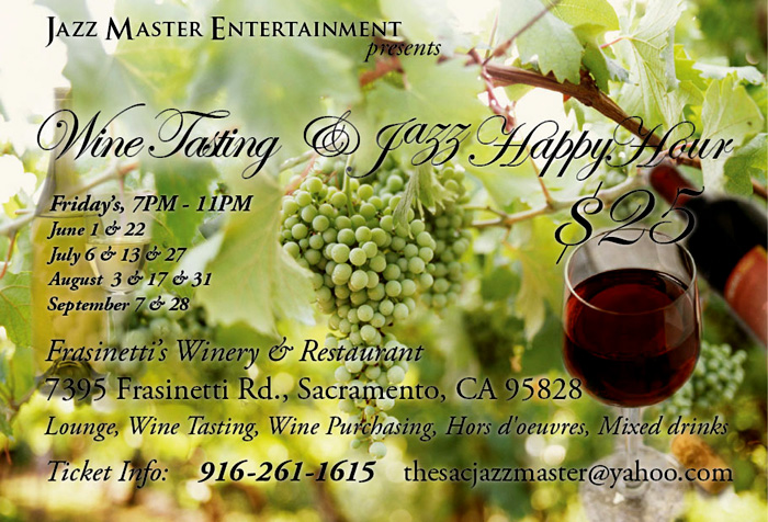 Wine Tasting & Jazz Happy Hour