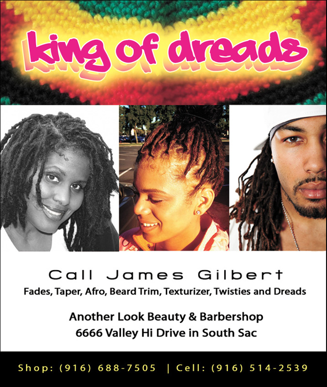 King of Dreads at Another Look Beauty & Barbers Salon in South Sac