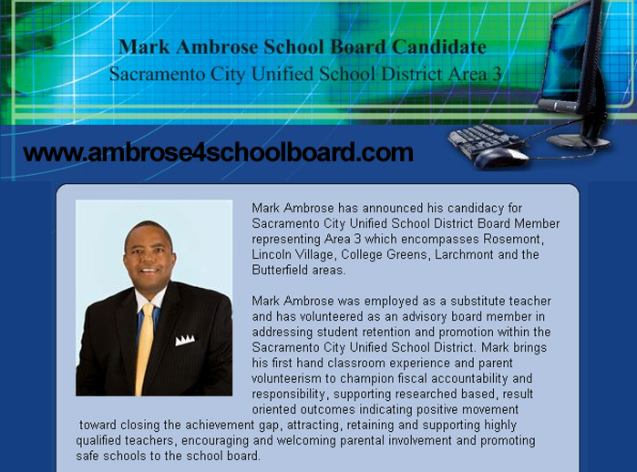 Vote Mark Ambrose For School Board Sac Cultural Hub