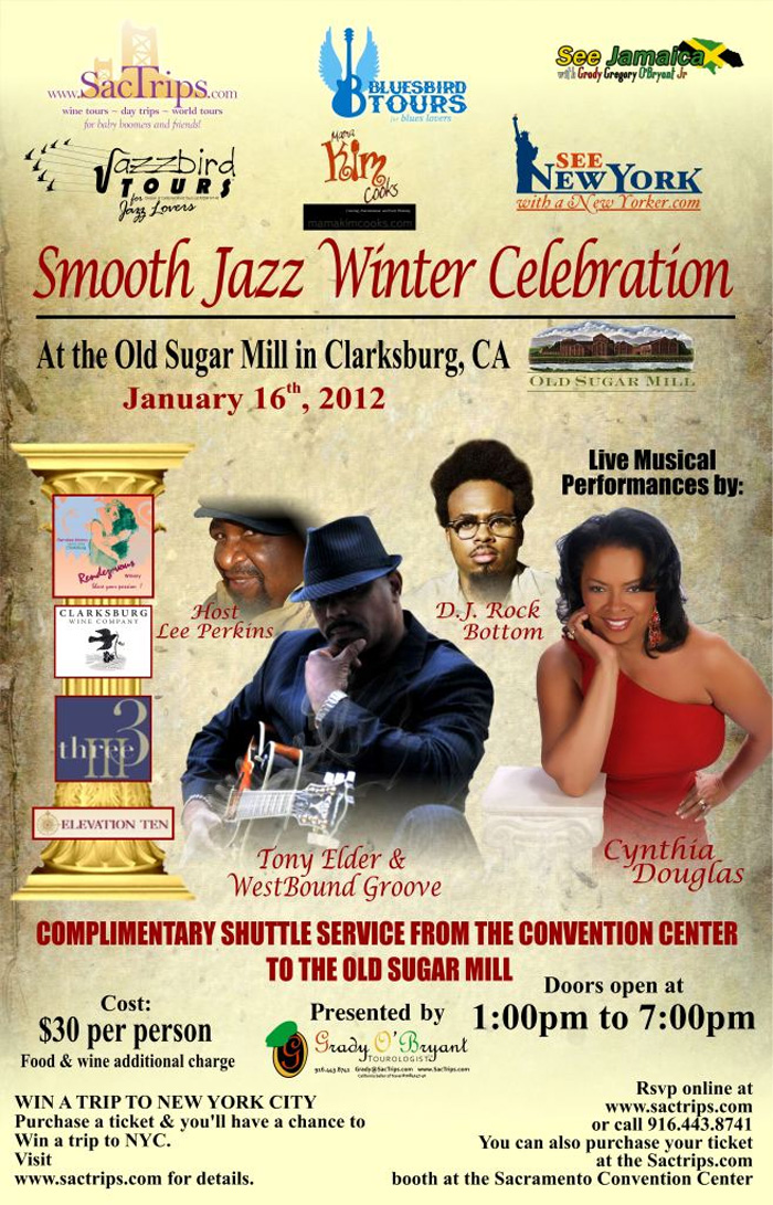 Smooth Jazz at Old Sugar Mill