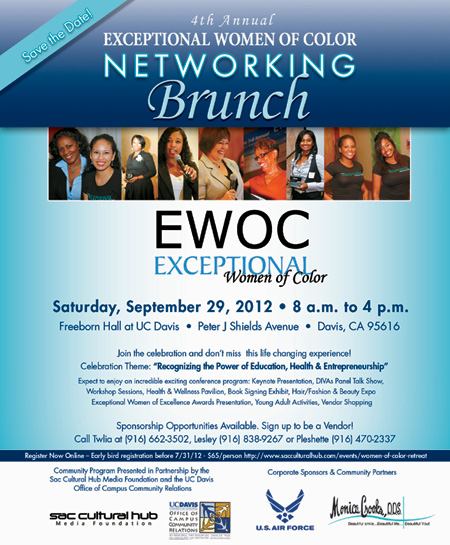 REGISTER NOW for the Exceptional Women of Color Networking Brunch & Wellness Conference