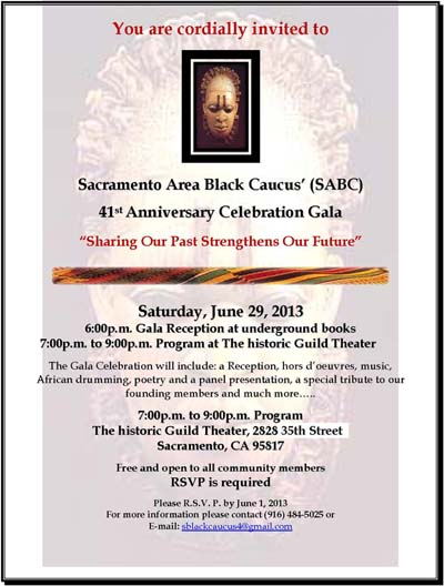 Black Caucus 41st Anniversary Celebration Gala
