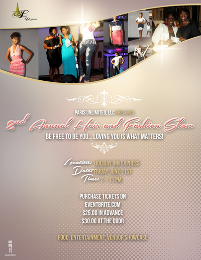 Second Annual Hair and Fashion Show