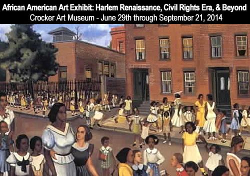 African American Art Exhibit at Crocker Art Museum