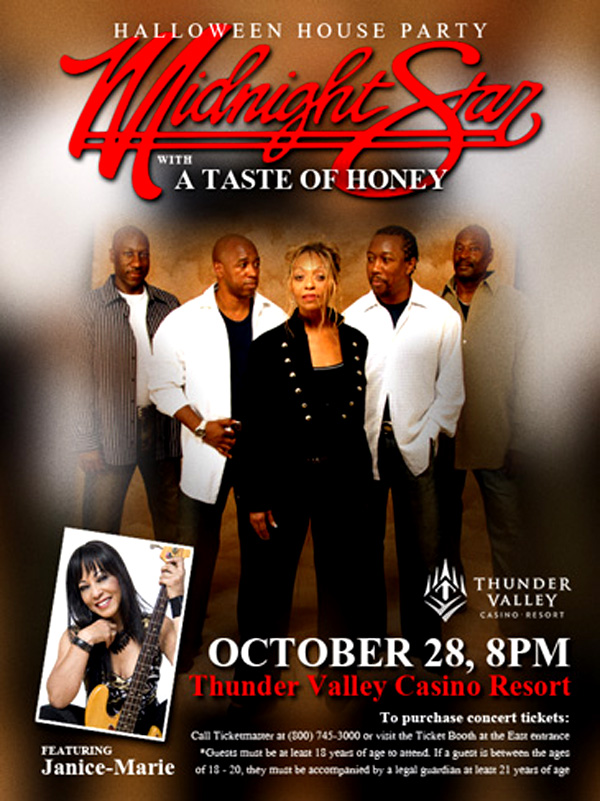 Taste of Honey at Thunder Valley
