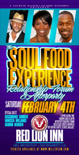 Soul Food Experience Relationship Forum and After Part