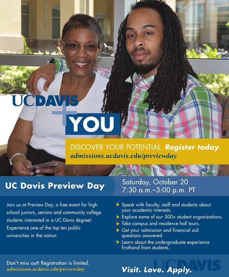 2012 UC Davis Preview Day