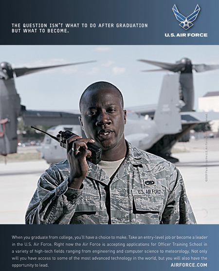 Become a Leader in the U.S. Air Force