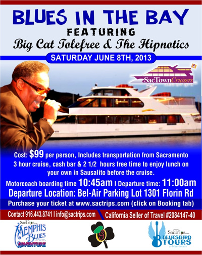 Blues in the Bay Cruise