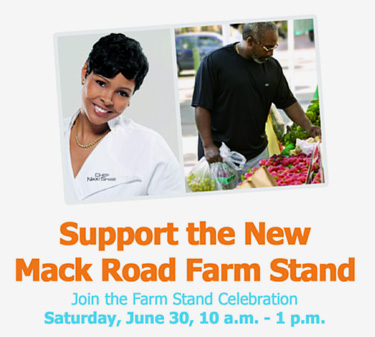 Join the Farm Stand Celebration with Celebrity Chef Nikki Shaw