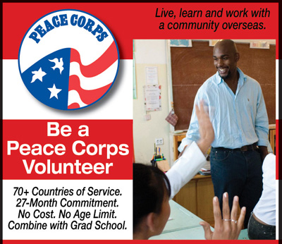 Become a Peace Corps Volunteer