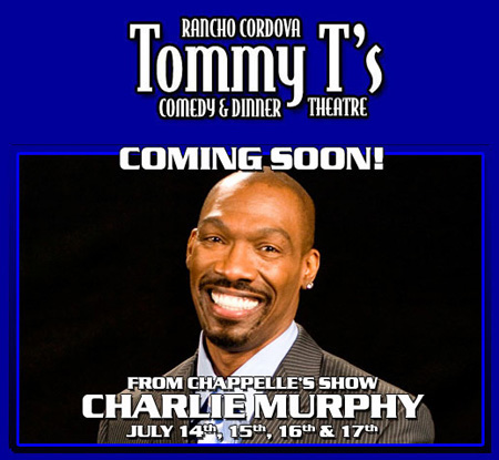 Charlie Murphy at Tommy T's