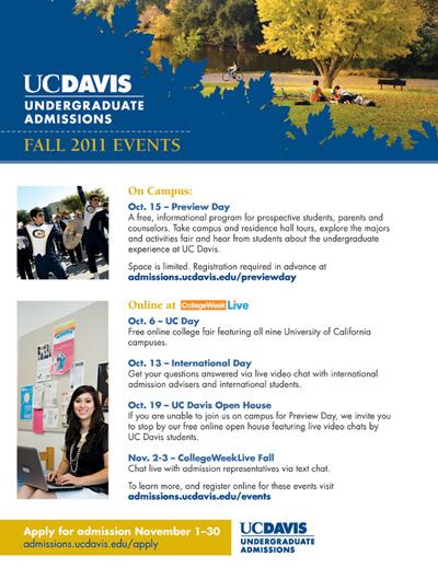 UC Davis Preview Day