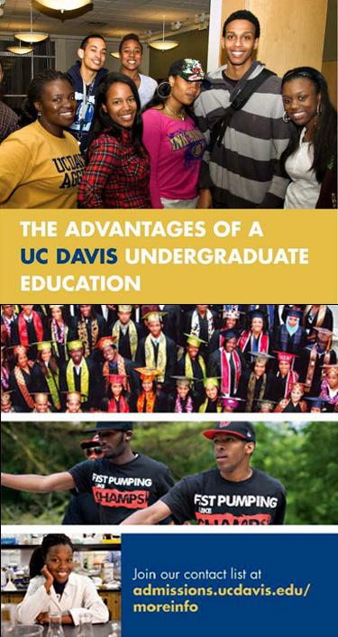 Pursue your Undergraduate Degree at UC Davis