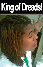 King of Dreads - Call James at Another Look Beauty & Barber Shop