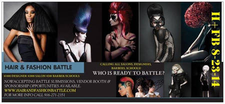 Hair and Fashion Battle 2014