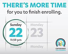 Covered California Open Enrollment Extended