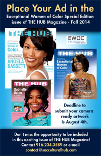 Place an ad in the next issue of THE HUB Magazine