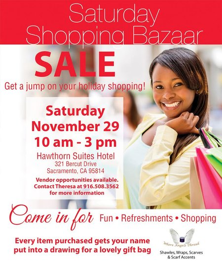 Saturday Shopping Bazaar - November 29