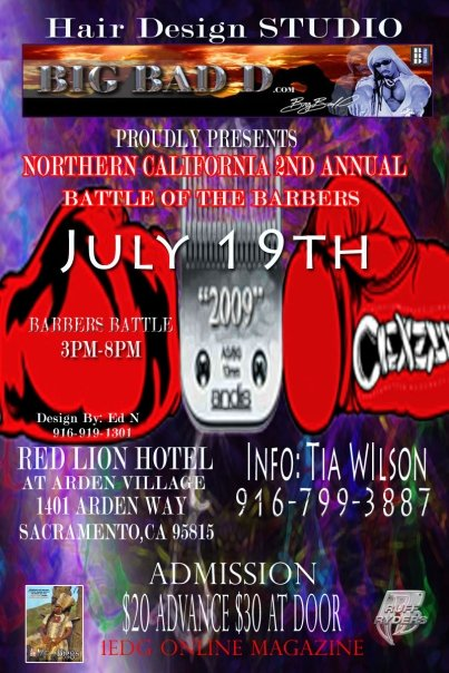 """""""Battle of the Barbers"""" in Sacramento"""