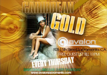 Caribbean Gold Dancehall Reggae