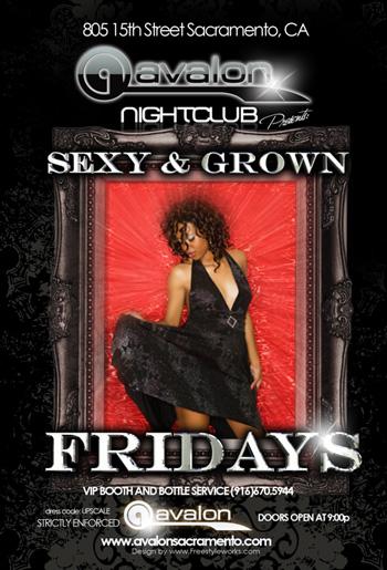 Sexy & Grown Fridays at Avalon