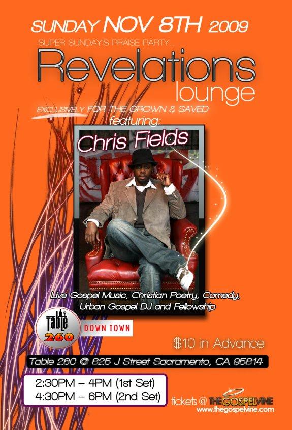 Revelations Lounge Super Sundays Praise Party