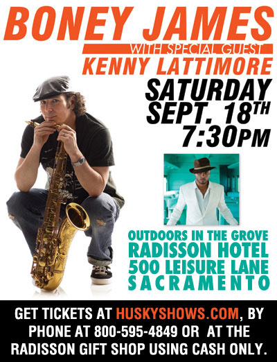 Boney James live in concert
