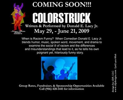 """Colorstruck"" theatre play"