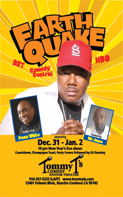 NYE Comedy Show at Tommy T's