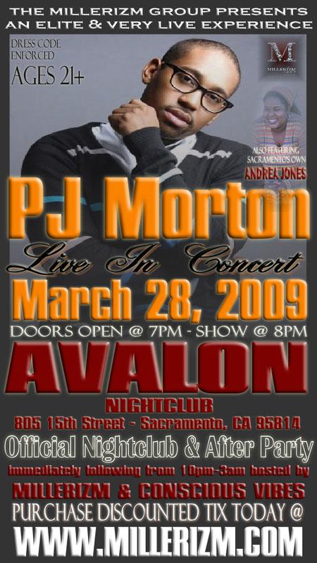 PJ Morton at Avalon NightClub
