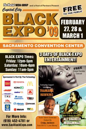Capital City Black Expo '09 at the Sacramento Convention Center