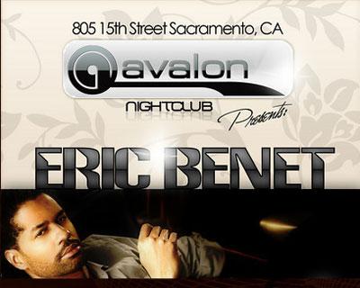 Eric Benet live at Avalon