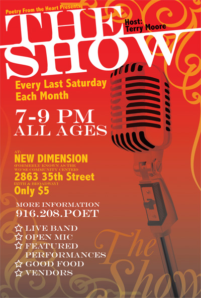 """""""THE SHOW"""" Poetry & Music Event"""